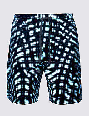 Supima® Cotton Spotted Shorts