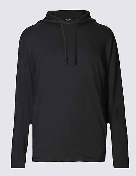 Supima® Cotton Blend Stretch Hoody