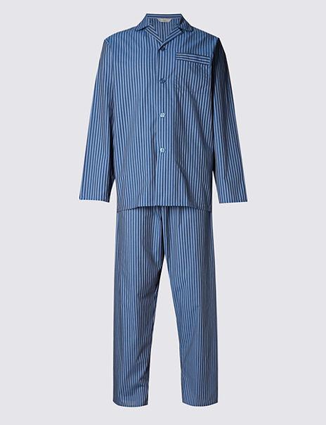 Easy Care Striped Pyjamas