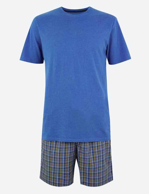 e64528b9e7 M&S Collection Men's Nightwear   Pyjamas   M&S
