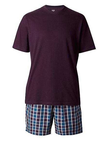 Pure Cotton T-Shirt & Shorts Set