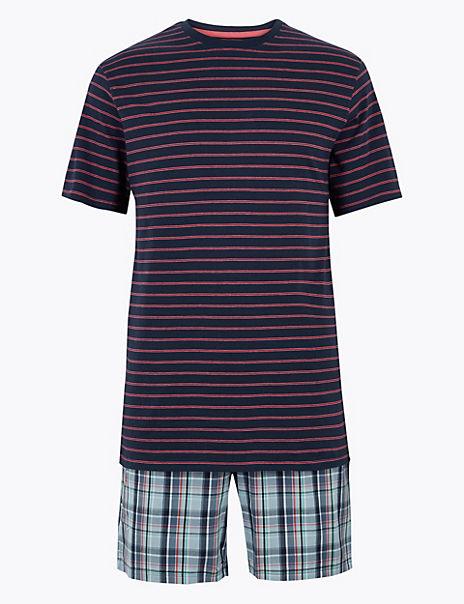 Big & Tall Pure Cotton Pyjama Set