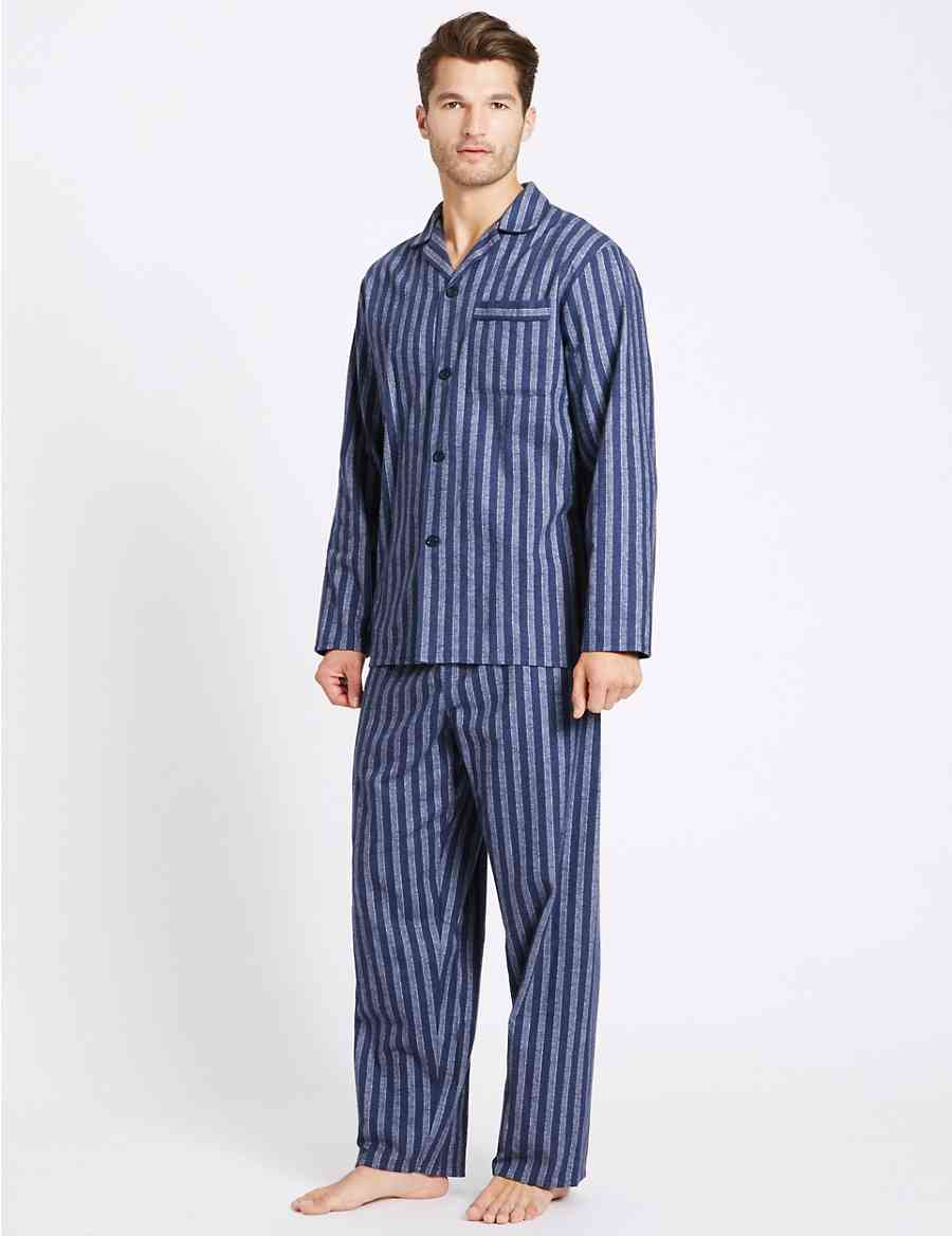 10b9f03a7f Big   Tall Pure Brushed Cotton Pyjama Set