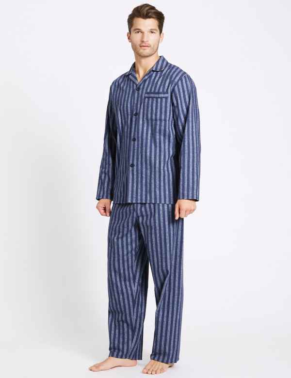 3eb4cc372a Big   Tall Pure Brushed Cotton Pyjama Set