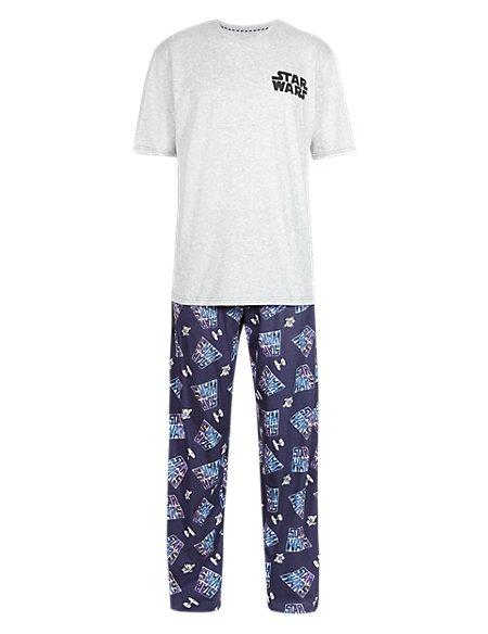 Pure Cotton Star Wars™ T-Shirt & Trousers Set