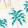 Pure Cotton Palm Print Pyjama Shorts Set, MULTI, swatch