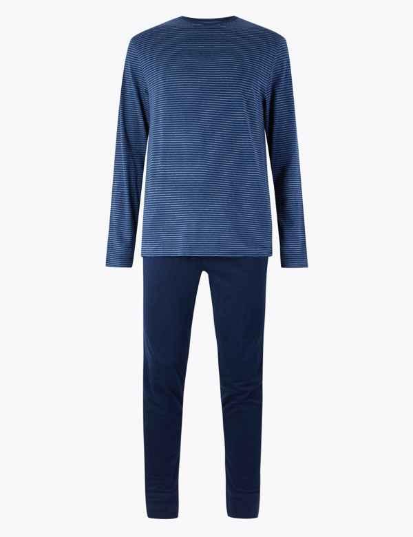 70328888663 M&S Collection Men's Nightwear | Pyjamas | M&S