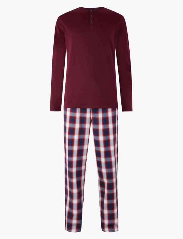 baaff6b31 M&S Collection Men's Nightwear | Pyjamas | M&S