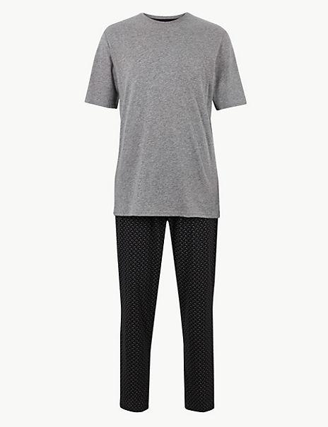 Pure Cotton Elephant Printed Pyjama Set
