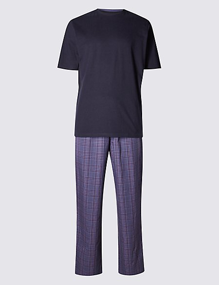 Pure Cotton Stay Soft T-Shirt & Trousers Set