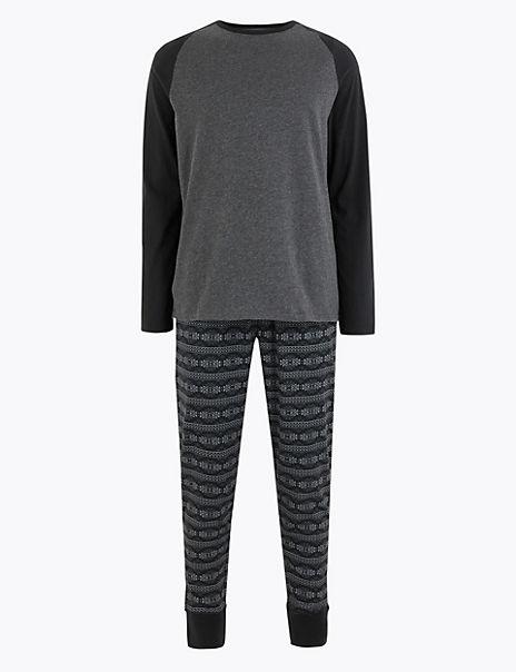 Pure Cotton Navajo Print Pyjama Set