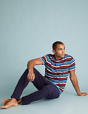 Pure Cotton Striped Pyjama Set