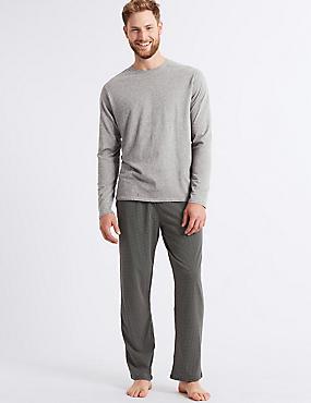 Pure Cotton Printed Pyjama Set