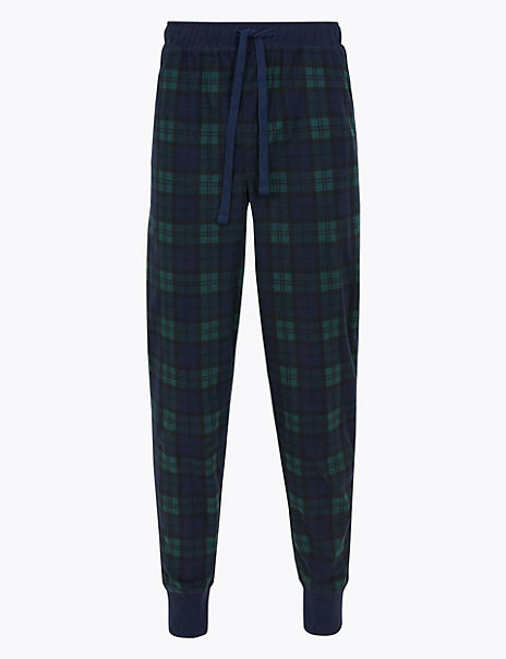 Supersoft Checked Pyjama Bottoms
