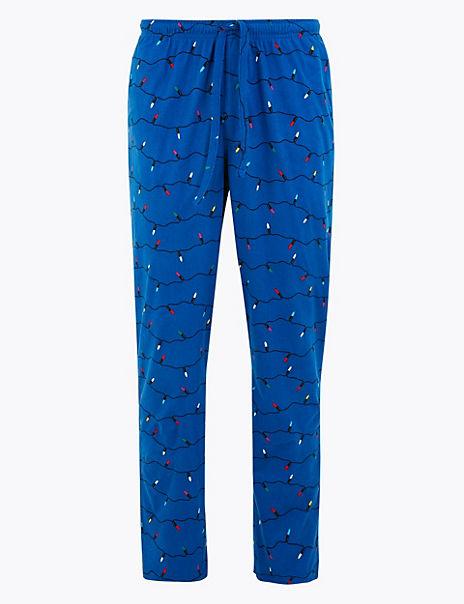 Supersoft Cosy Tree Light Pyjama Bottoms