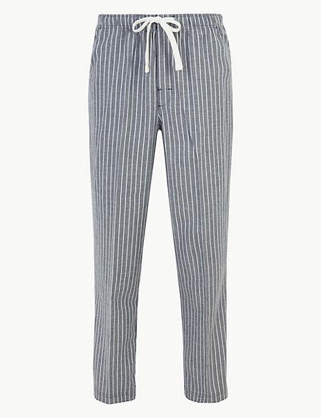 Sleepwell Striped Pyjama Bottoms