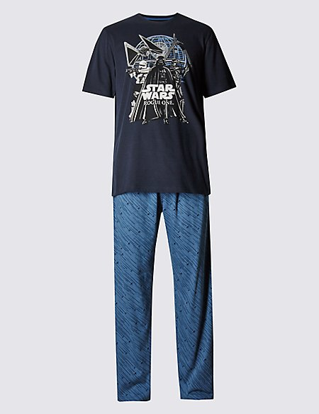 Star Wars™ Pure Cotton T-Shirt & Trousers Set