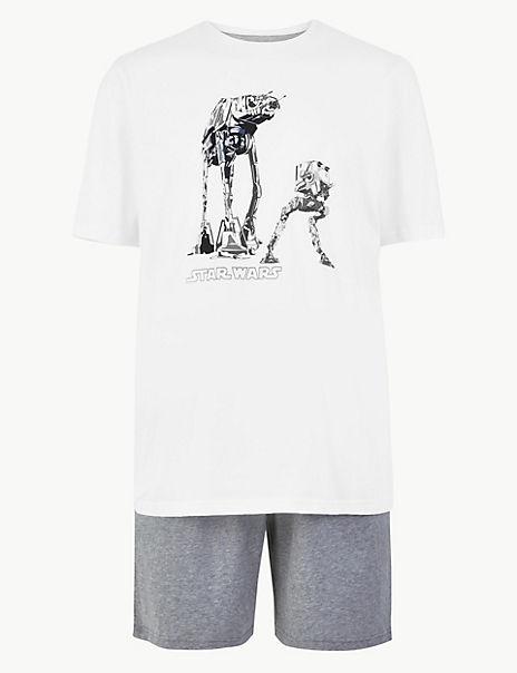 Star Wars™ Print Pyjama Shorts Set