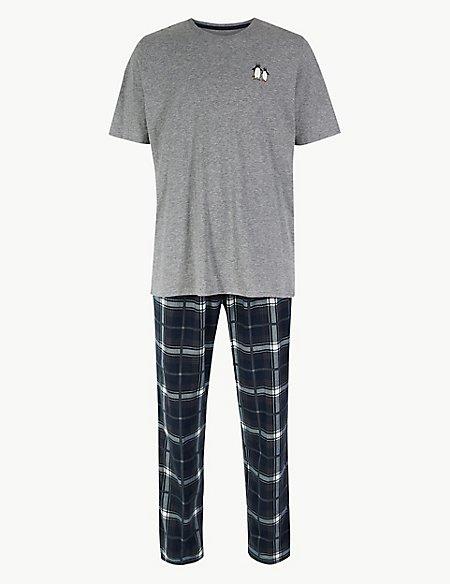 Penguin Print Pyjama Set