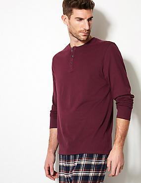 Pure Cotton Pyjama Top