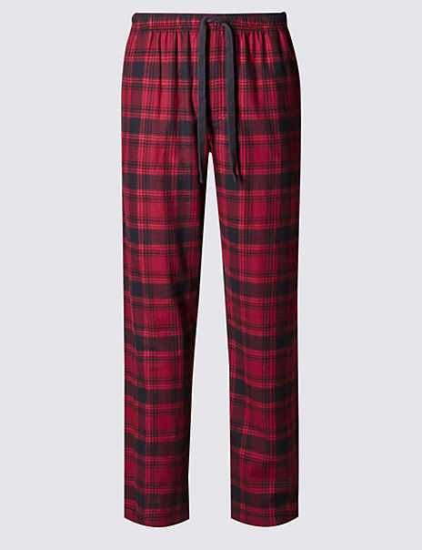 Pure Cotton Stay Soft Pyjama Bottoms