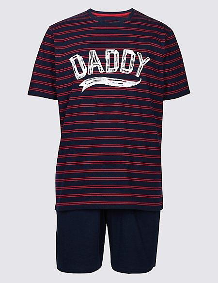 Father and Child Matching Pyjamas