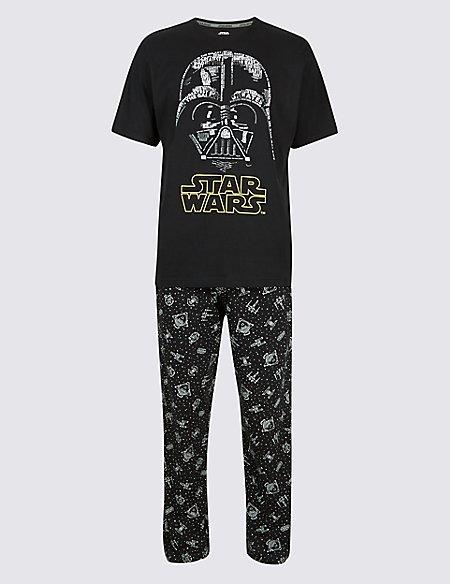 Star Wars™ Pure Cotton Printed Pyjama Set