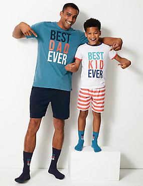 e35b8f7fd0c Pijama corto con estampado  Best Dad Ever