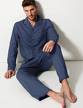 Pure Cotton Printed Pyjama Set