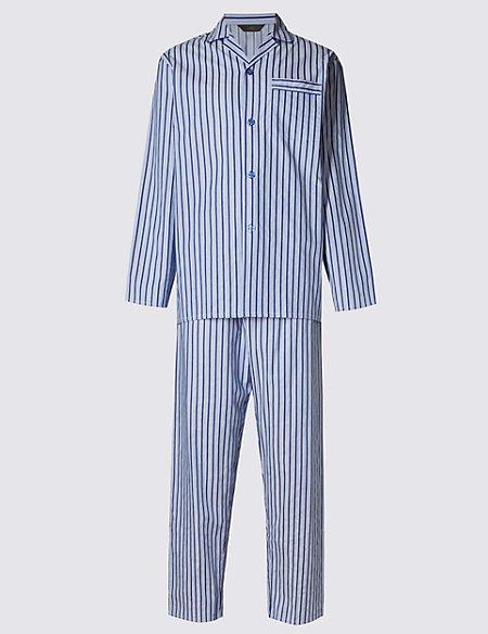 Pure Cotton Bold Striped Pyjamas