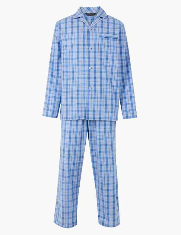 Pure Cotton Checked Pyjama Set 3d8d68666