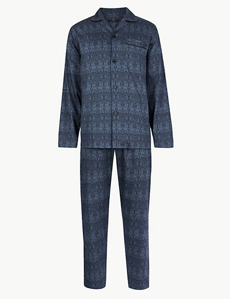 Cotton William Morris Print Pyjama Set