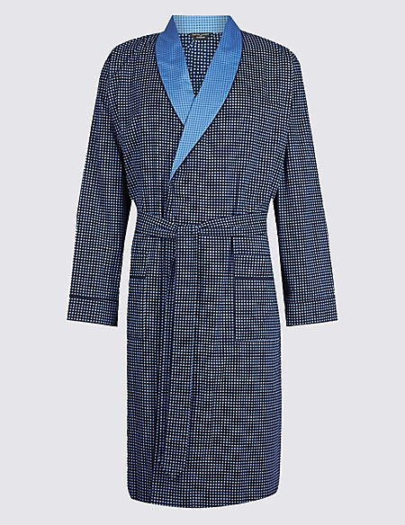 Supima® Cotton Dressing Gown with Belt