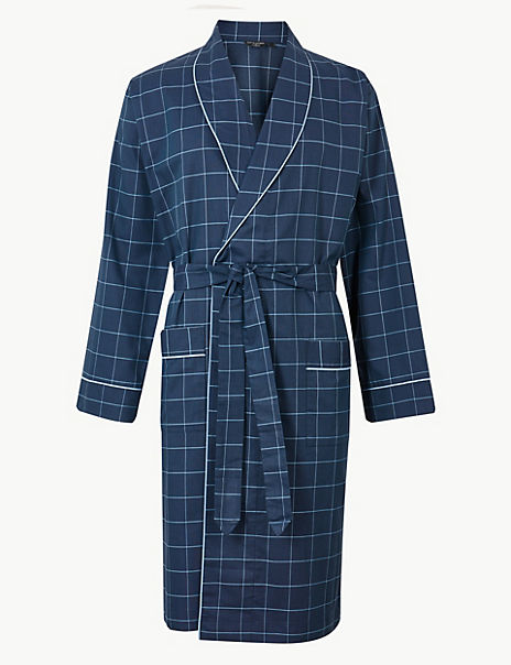 Supima® Cotton Lightweight Dressing Gown