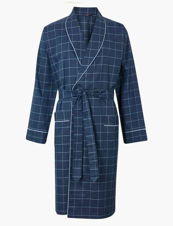 Supima® Cotton Lightweight Dressing Gown 9d125f864