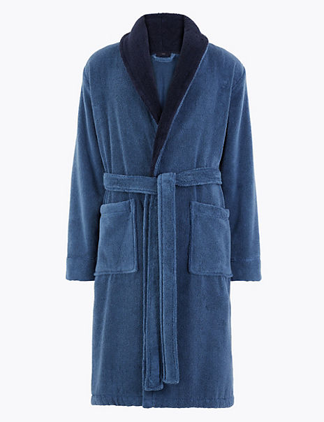 Cotton Supersoft Towelling Dressing Gown