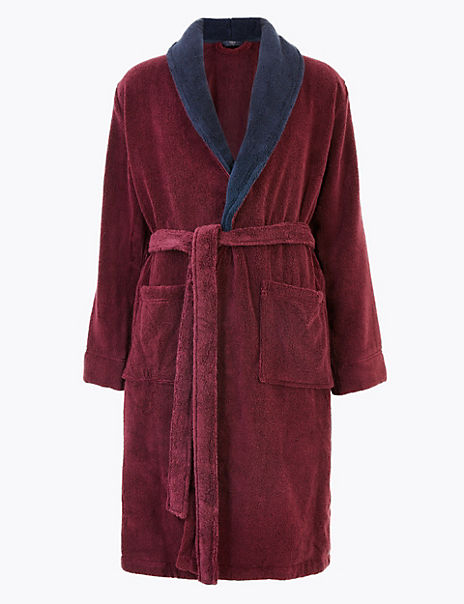 Supersoft Cotton Towelling Dressing Gown