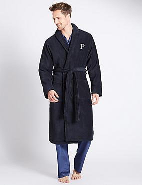 Super Soft Cotton Personalised Alphabet P Gown