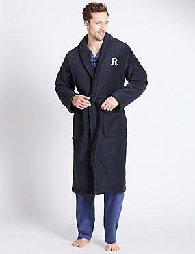 Super Soft Cotton Personalised Alphabet R Gown