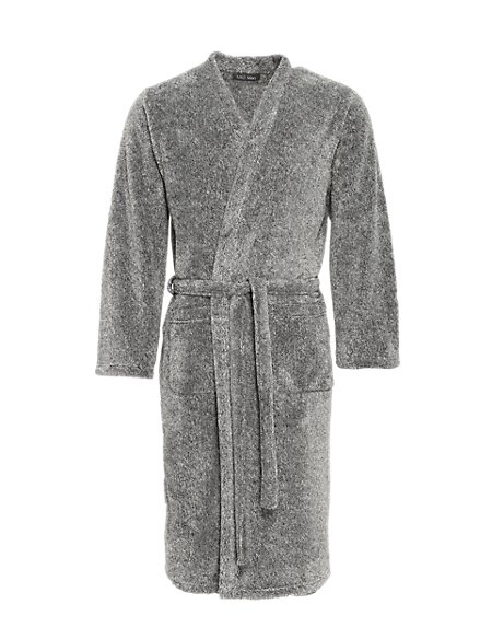 Thermal Fleece Dressing Gown | M&S Collection | M&S