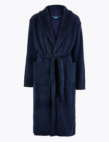 Longer Length Supersoft Fleece Gown