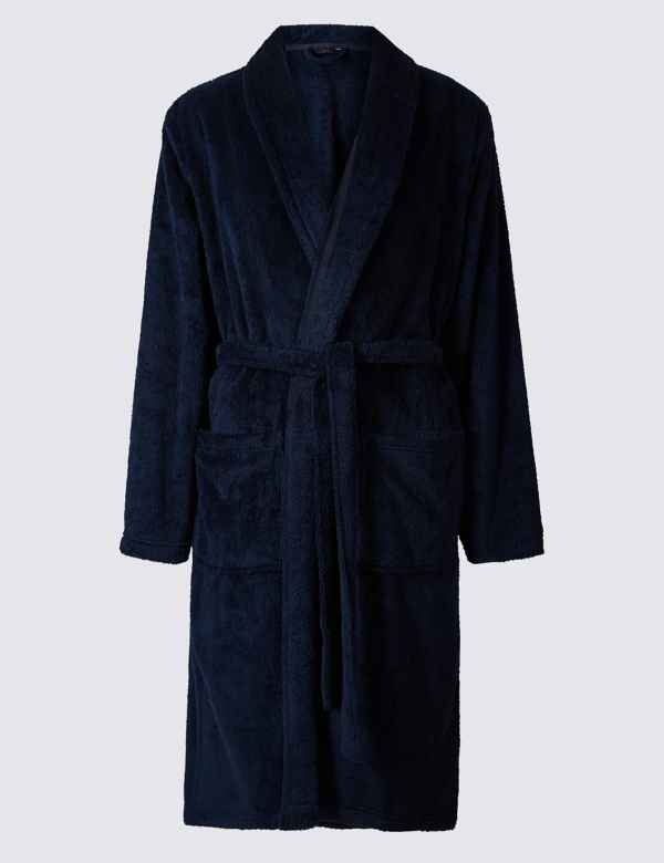 d7fa3127c0f Supersoft Fleece Dressing Gown with Belt