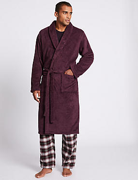 Supersoft Fleece Dressing Gown