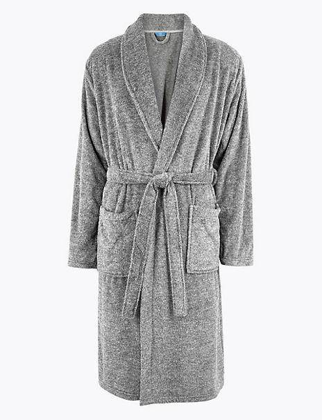 Supersoft Fleece Marl Gown