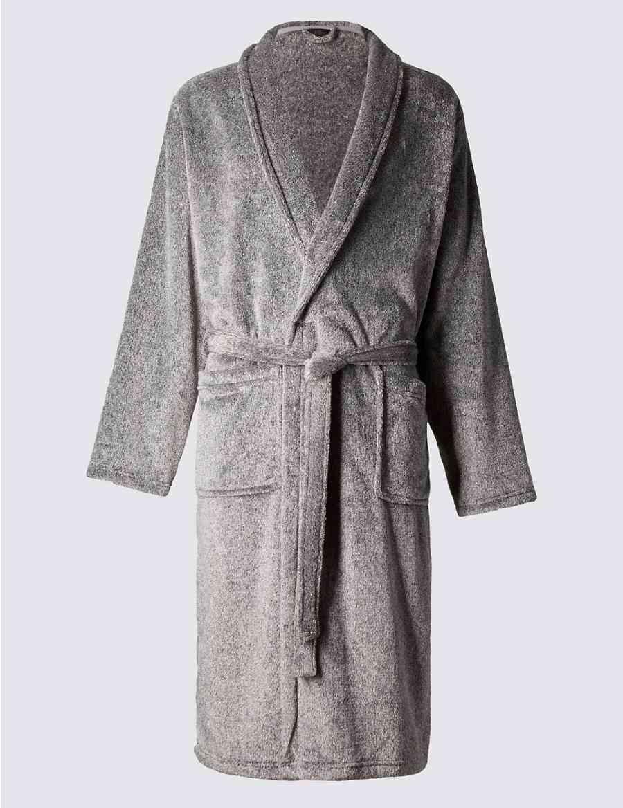 6719899e0b Supersoft Fleece Dressing Gown with Belt