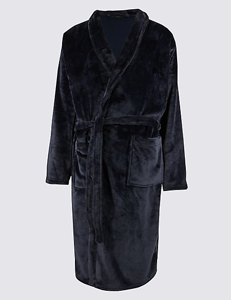Supersoft Super Dad Fleece Dressing Gown