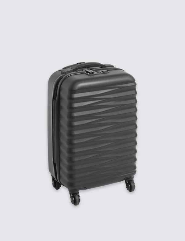 Cabin 4 Wheel Essential Hard Suitcase with Security Zip cf6e0fb769198