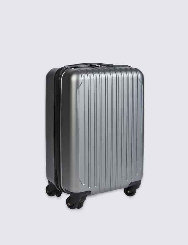 2900210a3a71 Cabin 4 Wheel Hard Suitcase with Security Zip