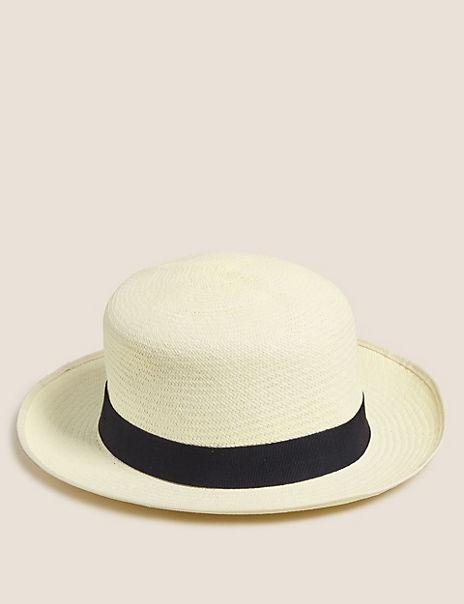 Christy's Foldable Straw Panama Hat