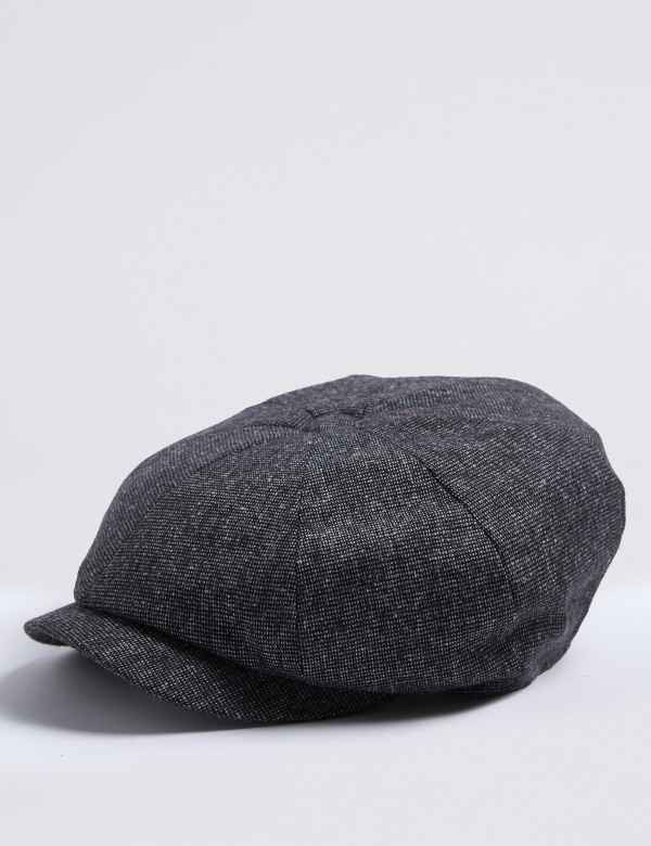 Wool Blend Baker Boy Hat 1f707ad5419